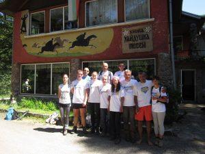 8. участниците от ТДСтратеш, Ловеч след финала на похода 100 км за 24 ч.